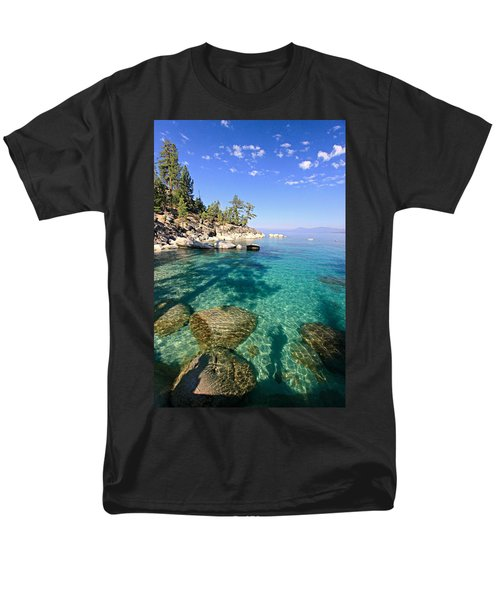 Morning Glory At The Cove Men's T-Shirt  (Regular Fit) by Sean Sarsfield