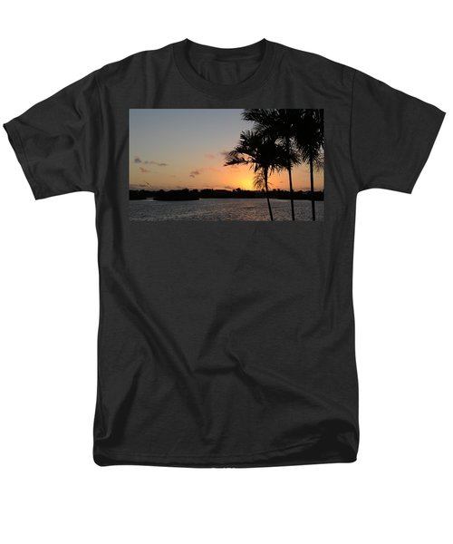 Men's T-Shirt  (Regular Fit) featuring the photograph Morning Has Broken Two by Pamela Blizzard