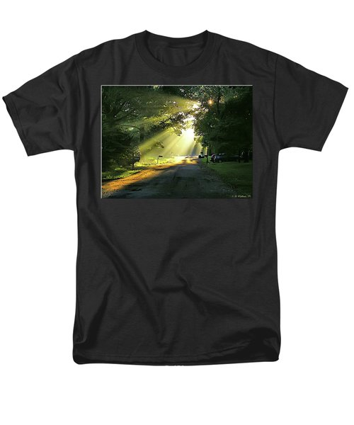 Men's T-Shirt  (Regular Fit) featuring the photograph Morning Light by Brian Wallace
