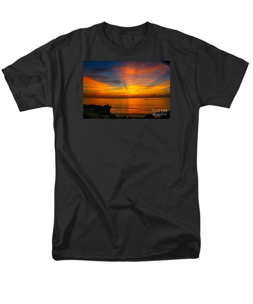 Morning On The Water Men's T-Shirt  (Regular Fit) by Tom Claud