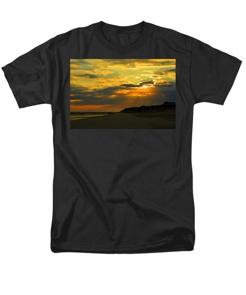 Morning Rays Over Cape Cod Men's T-Shirt  (Regular Fit) by Dianne Cowen