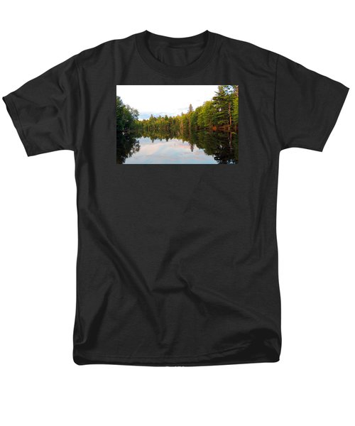 Men's T-Shirt  (Regular Fit) featuring the photograph Morning Reflection by Teresa Schomig