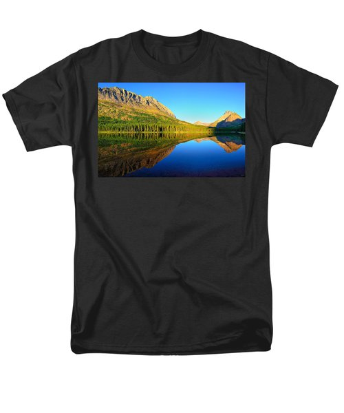 Men's T-Shirt  (Regular Fit) featuring the photograph Morning Reflections At Fishercap Lake by Greg Norrell