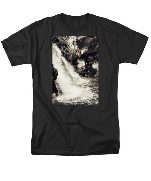 Men's T-Shirt  (Regular Fit) featuring the photograph Morrell Falls 7 - 2015 by Janie Johnson