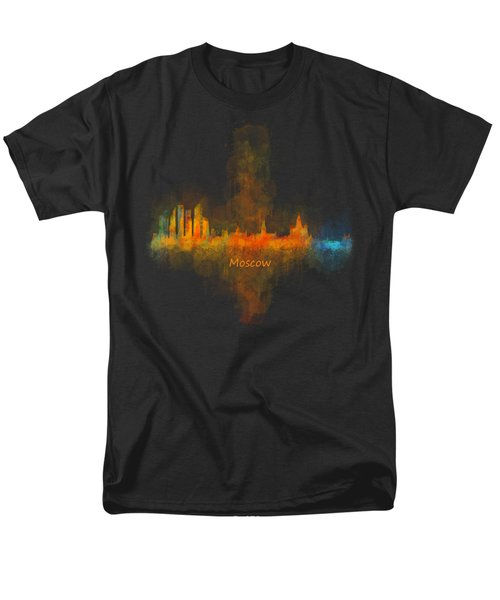 Moscow City Skyline Hq V4 Men's T-Shirt  (Regular Fit) by HQ Photo