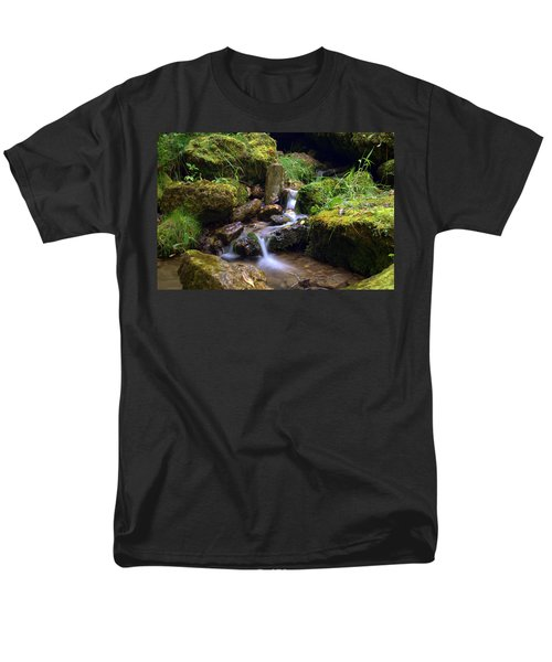 Mossy Glenn Spring 2 Men's T-Shirt  (Regular Fit) by Bonfire Photography