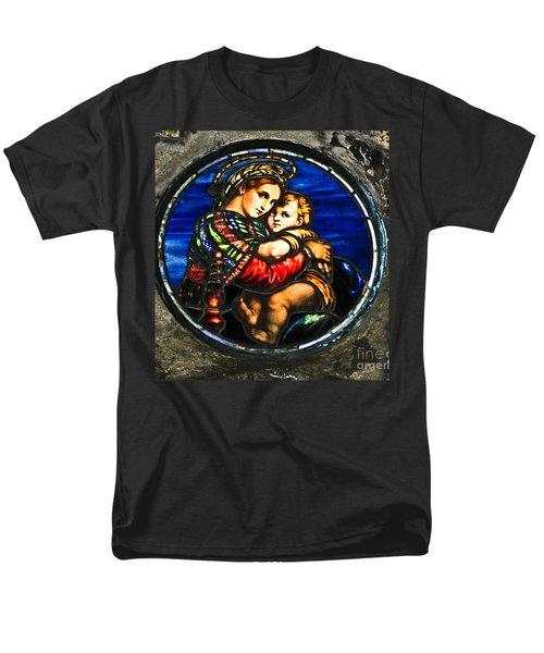 In God We Trust Wall Art Print Men's T-Shirt  (Regular Fit) by Carol F Austin