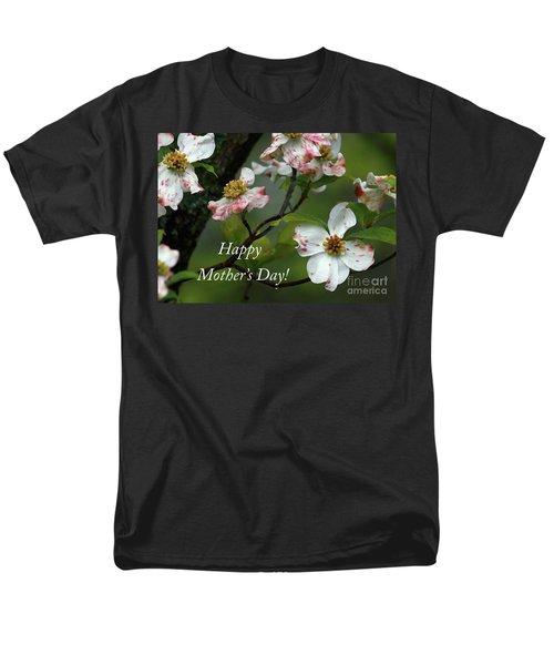 Mother's Day Dogwood Men's T-Shirt  (Regular Fit) by Douglas Stucky
