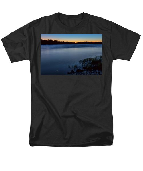 Men's T-Shirt  (Regular Fit) featuring the photograph Mountain Lake Glow by James BO Insogna