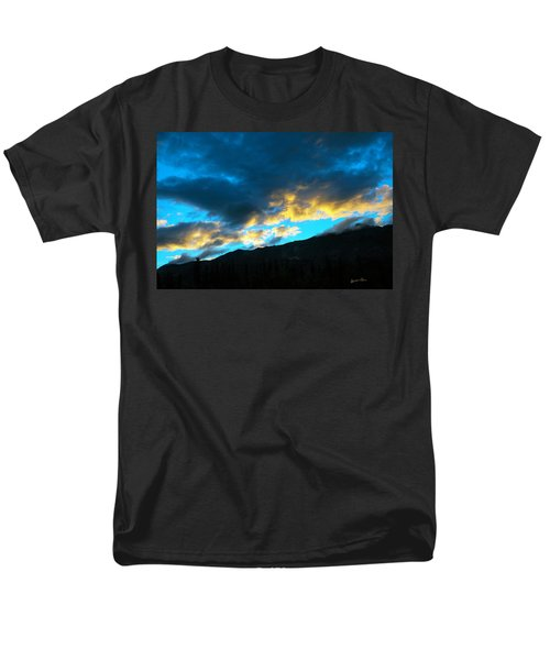 Men's T-Shirt  (Regular Fit) featuring the photograph Mountain Silhouette by Madeline Ellis