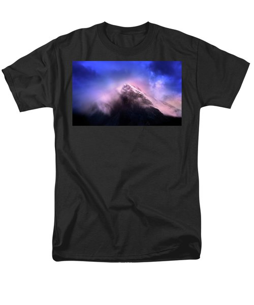 Mountain Twilight Men's T-Shirt  (Regular Fit) by John Poon