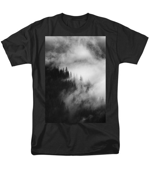 Mountain Whispers Men's T-Shirt  (Regular Fit) by Mike  Dawson