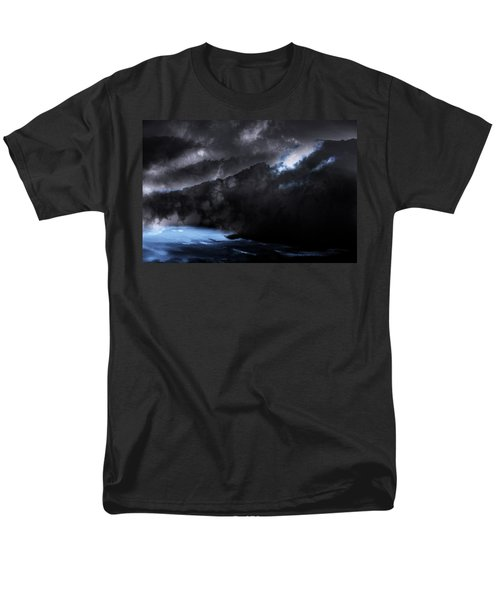 Men's T-Shirt  (Regular Fit) featuring the photograph Mountains Of The Blue Ridge by Gray  Artus