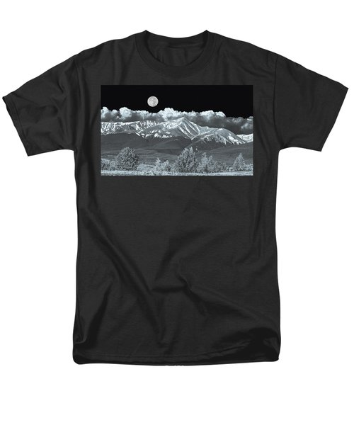 Mountains, When High Enough And Tough Enough, Measure Men.  Men's T-Shirt  (Regular Fit) by Bijan Pirnia