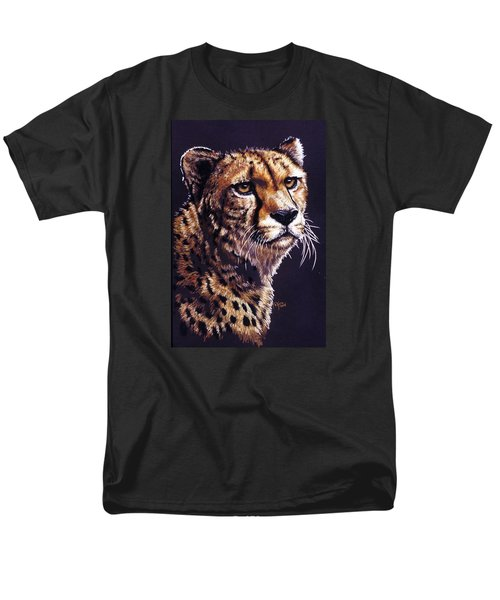 Men's T-Shirt  (Regular Fit) featuring the drawing Movin On by Barbara Keith