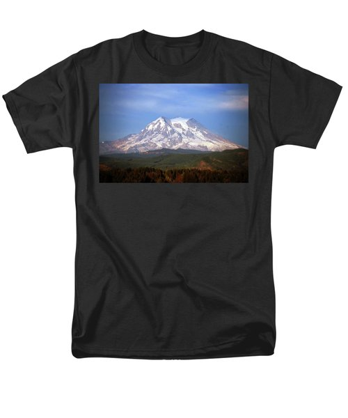 Men's T-Shirt  (Regular Fit) featuring the photograph Mt. Rainier by Sumoflam Photography