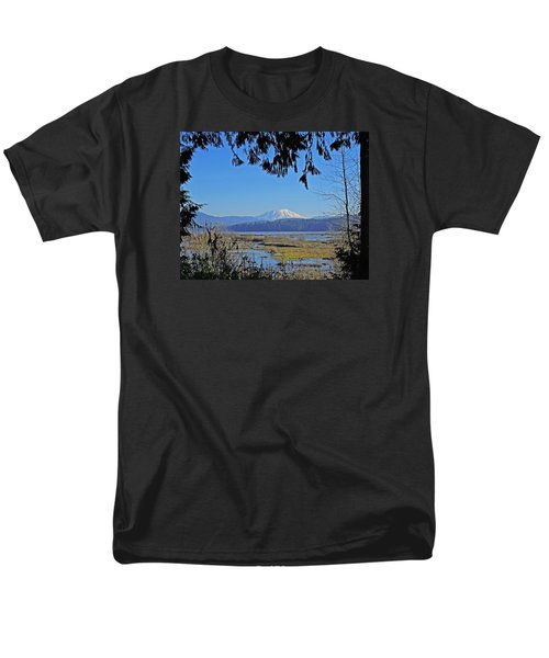 Men's T-Shirt  (Regular Fit) featuring the photograph Mt St Helens by Jack Moskovita