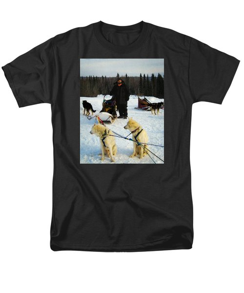 Men's T-Shirt  (Regular Fit) featuring the photograph Musher by Timothy Bulone
