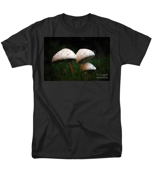 Mushrooms In The Morning Men's T-Shirt  (Regular Fit) by Robert Meanor