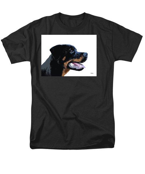 Men's T-Shirt  (Regular Fit) featuring the digital art Music Notes 33 by David Bridburg