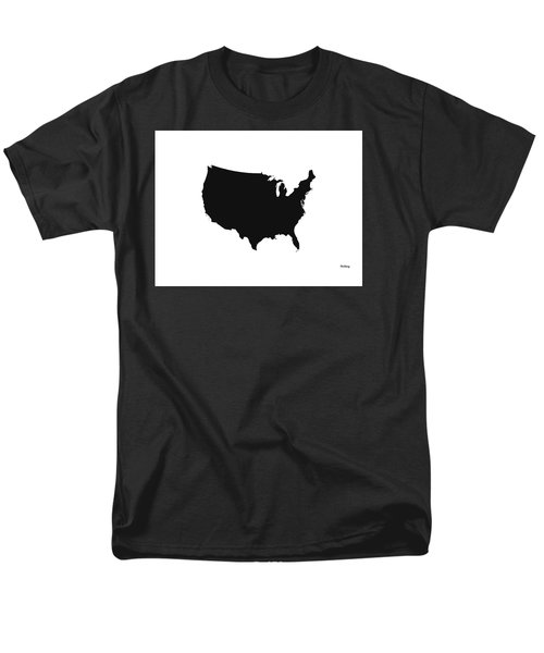 Men's T-Shirt  (Regular Fit) featuring the digital art Music Notes 4 by David Bridburg