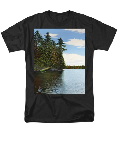 Muskoka Shores Men's T-Shirt  (Regular Fit) by Kenneth M  Kirsch
