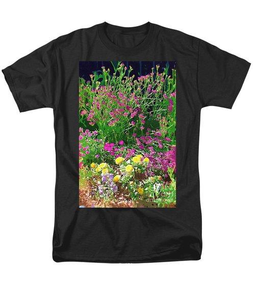 Men's T-Shirt  (Regular Fit) featuring the photograph My Garden   by Donna Bentley