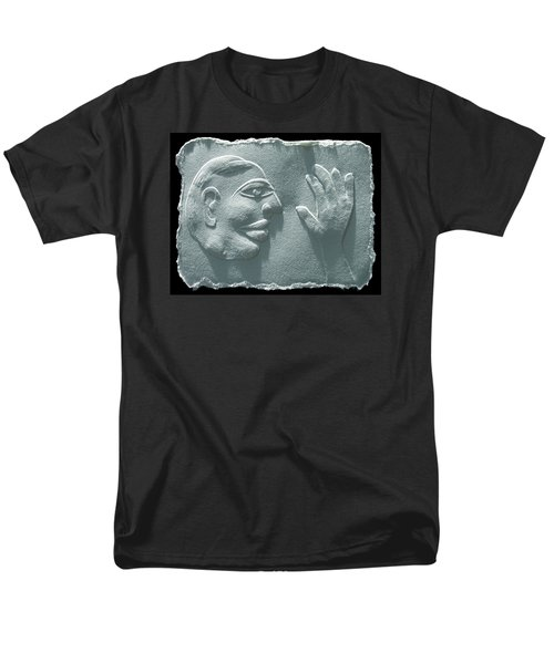 Men's T-Shirt  (Regular Fit) featuring the relief My Hand by Suhas Tavkar