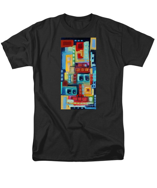 Men's T-Shirt  (Regular Fit) featuring the painting My Jazz N Blues 3 by Holly Carmichael