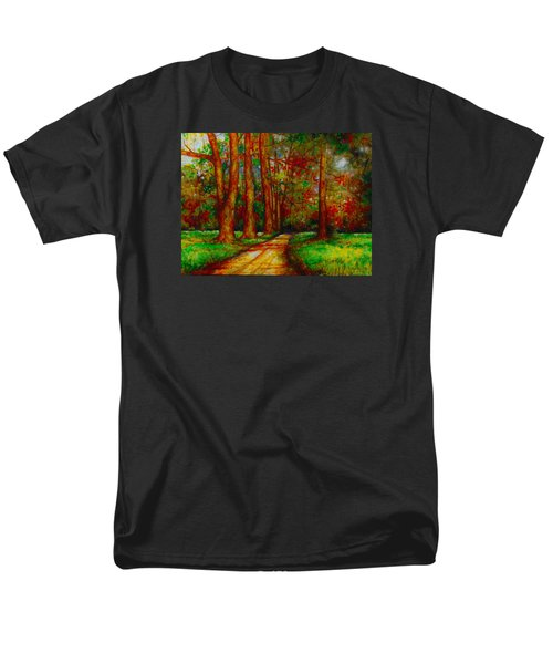 Men's T-Shirt  (Regular Fit) featuring the painting My Land by Emery Franklin