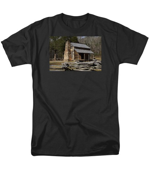 Men's T-Shirt  (Regular Fit) featuring the photograph My Mountain Home by B Wayne Mullins