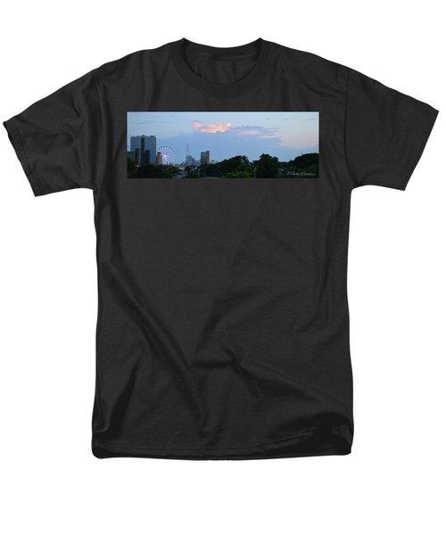 Myrtle Beach Sunset Men's T-Shirt  (Regular Fit) by Gordon Mooneyhan