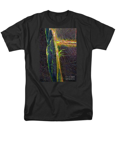 Men's T-Shirt  (Regular Fit) featuring the photograph Mysterious Tree by Haleh Mahbod