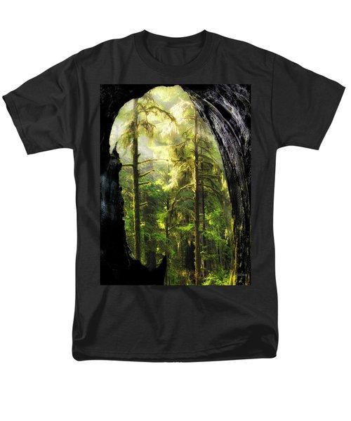 Mystical Forest Opening Men's T-Shirt  (Regular Fit) by Leland D Howard