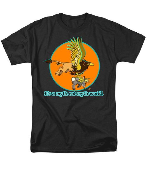 Mythhunter Men's T-Shirt  (Regular Fit)