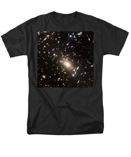 Men's T-Shirt  (Regular Fit) featuring the photograph Nasa's Hubble Looks To The Final Frontier by Nasa
