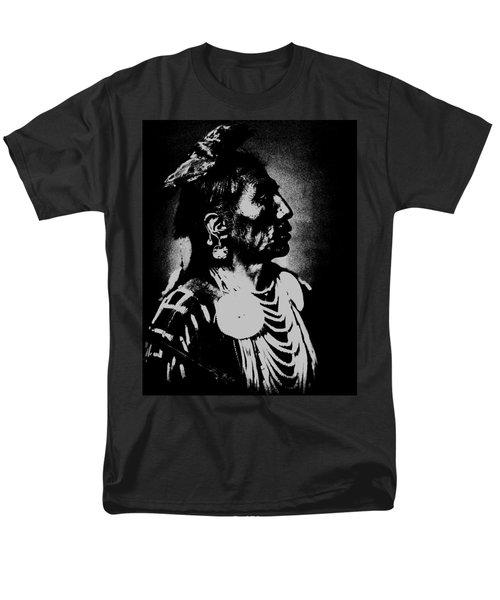Native American 2 Curtis Men's T-Shirt  (Regular Fit) by David Bridburg