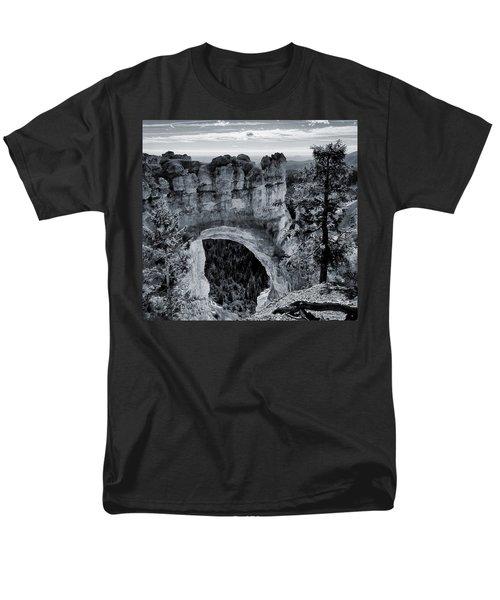 Natural Bridge No. 1-1 Men's T-Shirt  (Regular Fit) by Sandy Taylor