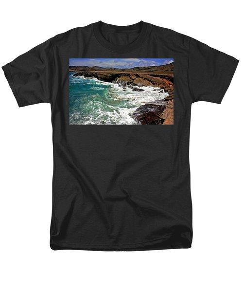 Men's T-Shirt  (Regular Fit) featuring the photograph Natural Bridge Aruba by Suzanne Stout