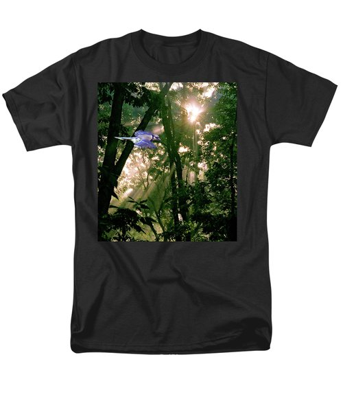 Men's T-Shirt  (Regular Fit) featuring the photograph Nature's Cathedral by Marie Hicks