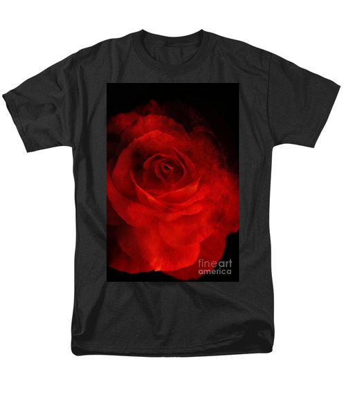Men's T-Shirt  (Regular Fit) featuring the photograph Natures Flame by Stephen Mitchell