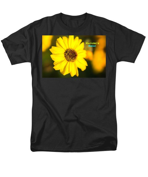Nature's Smile  Men's T-Shirt  (Regular Fit) by Joseph S Giacalone