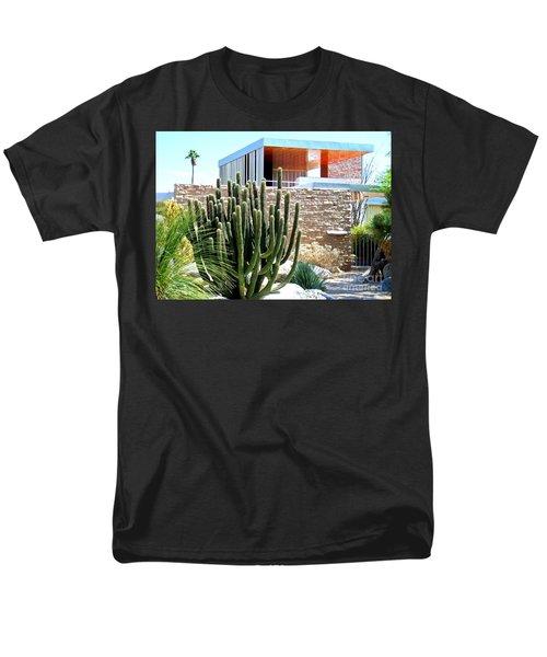 Neutra's Kaufman House 2 Men's T-Shirt  (Regular Fit) by Randall Weidner