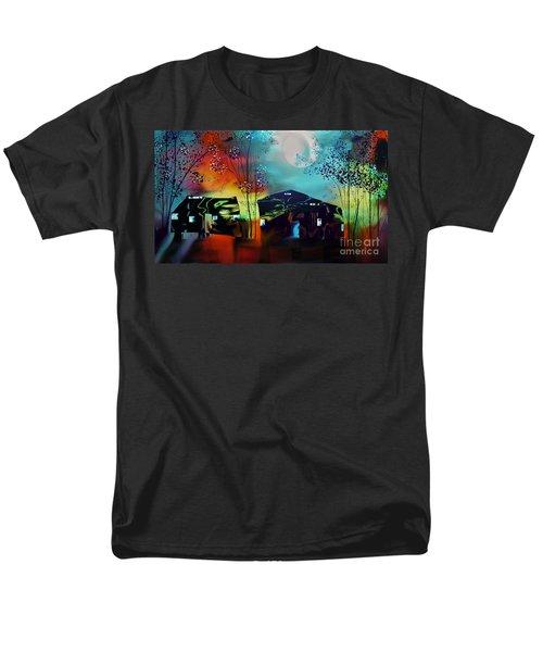 Never Alone  Men's T-Shirt  (Regular Fit) by Yul Olaivar