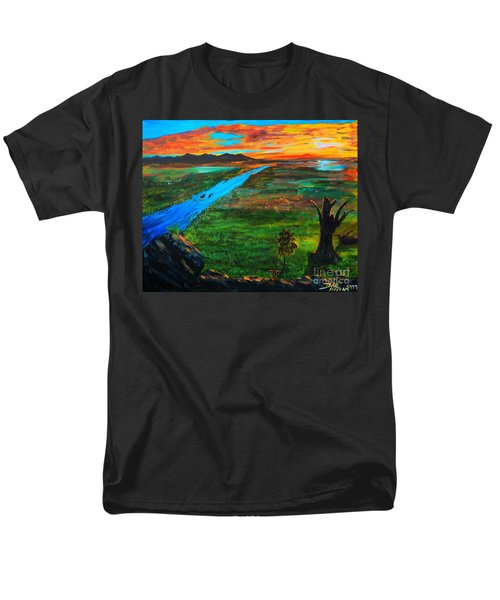 New Beginnings Men's T-Shirt  (Regular Fit) by Ruanna Sion Shadd a'Dann'l Yoder