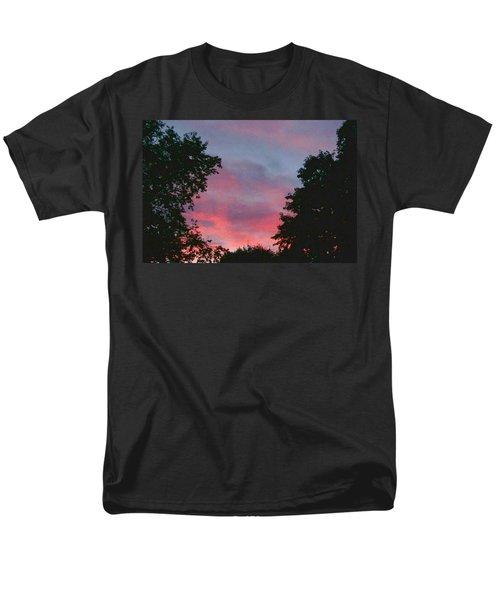 Men's T-Shirt  (Regular Fit) featuring the digital art New Hampshire Sunset by Barbara S Nickerson