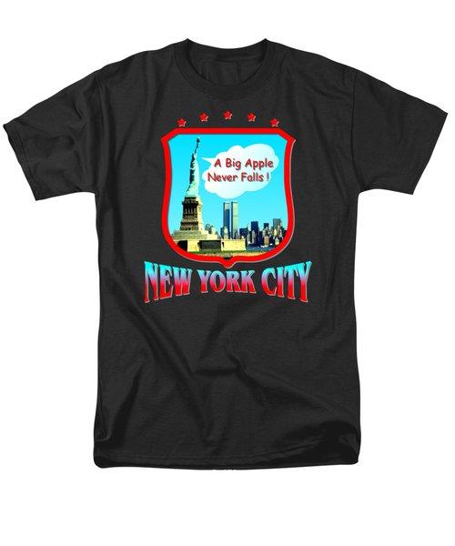 New York Big Apple Design Men's T-Shirt  (Regular Fit)