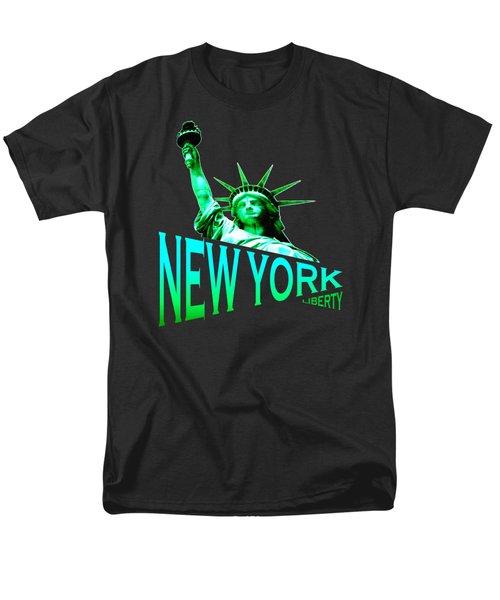 New York Liberty Design Men's T-Shirt  (Regular Fit)