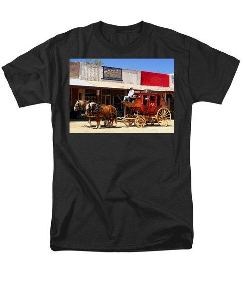 Next Stop Bisbee Men's T-Shirt  (Regular Fit) by Joe Kozlowski