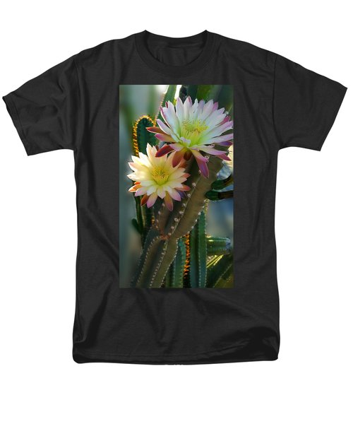 Men's T-Shirt  (Regular Fit) featuring the photograph Night-blooming Cereus 4 by Marilyn Smith